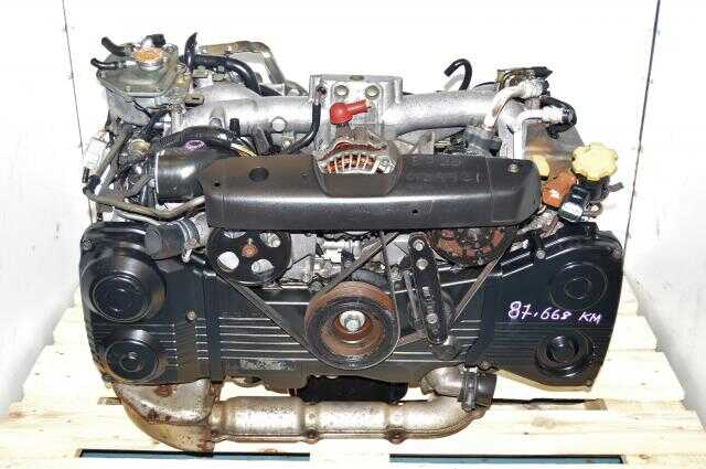 JDM WRX 2002-2005 2.0L DOHC EJ205 TF035 Turbocharged Engine Swap For Sale GD GG