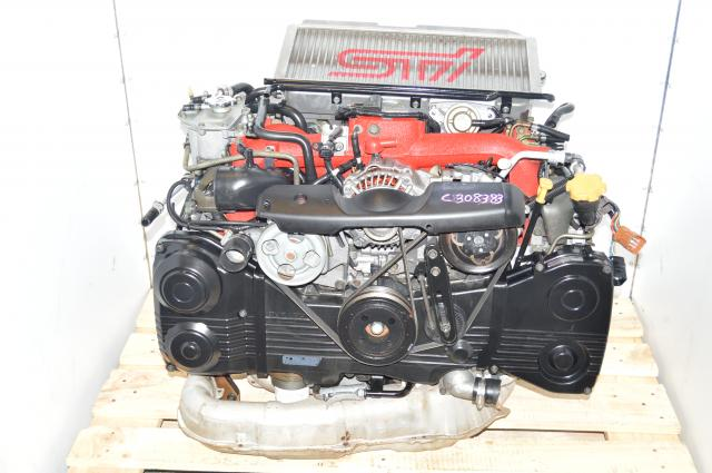 Subaru STi 2.0L EJ207 Replacement 2002-2007 DOHC Version 8 Twin Scroll JDM Engine Package For Sale