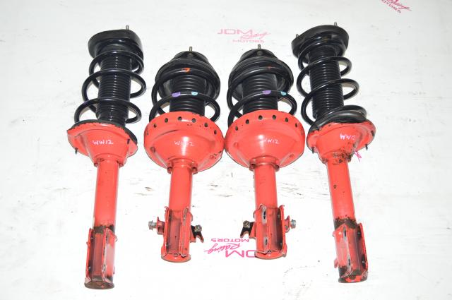2002-2007 JDM WRX STI OEM 5x100 Red Suspension For Sale