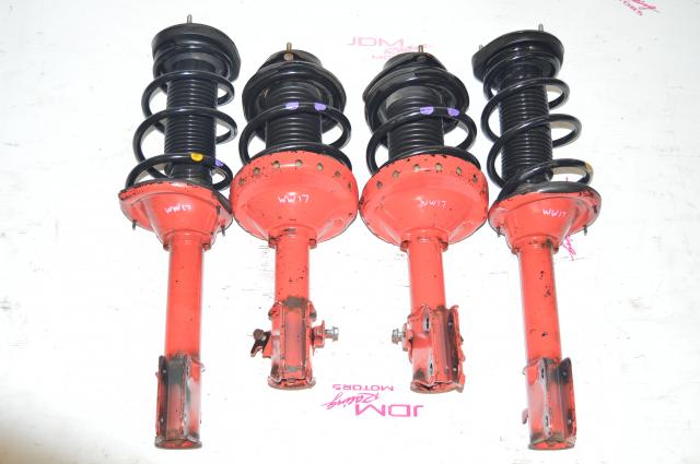 OEM 2002-2007 Subaru Impreza WRX STI Red Suspension 5x100 For Sale