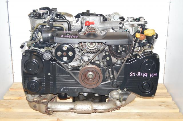 Subaru EJ205 TD04 Turbo AVCS DOHC 2.0L GDA GDB WRX 02-05 Engine For Sale