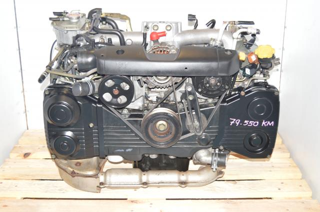 Impreza WRX 2002-2005 EJ205 TF035 Turbocharged 2.0L DOHC Engine For Sale