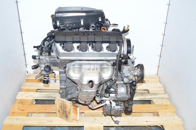 JDM Honda Civic 2001-2005 VTEC D17A Engine Swap For Sale