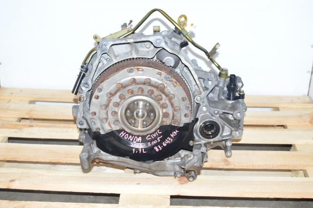 JDM 1.7L VTEC SLXA Honda Civic 2001-2005 Automatic Replacement Transmission