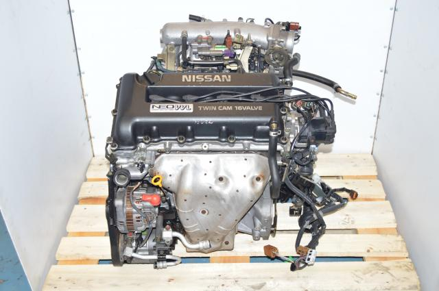 JDM Nissan SR20 NEO VVL Sentra, Primera G20A Engine Swap from AT For Sale FWD 2.0L