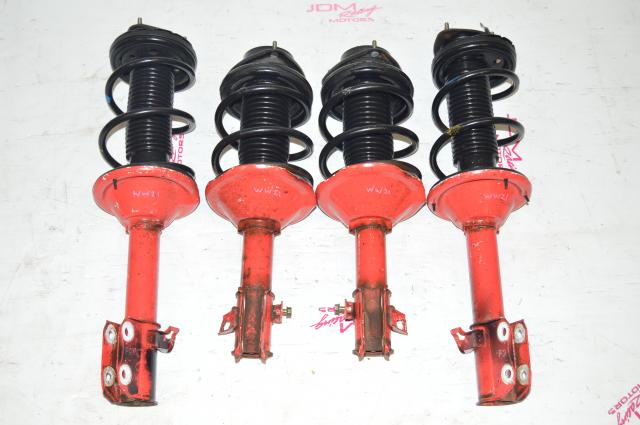 JDM Subaru GC8 OEM Red Suspensions STI 5x100 Impreza RS For Sale