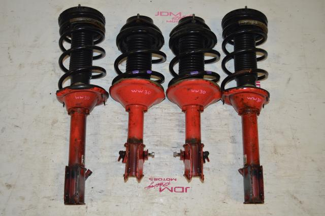 OEM Subaru Impreza WRX 5x100 Red Suspension For Sale