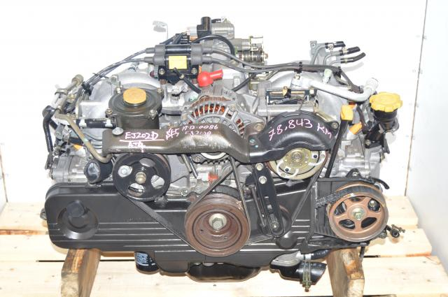 JDM SOHC EJ201 Forester / Legacy Naturally Aspirated 2.0L Replacement Engine for EJ251 2.5L