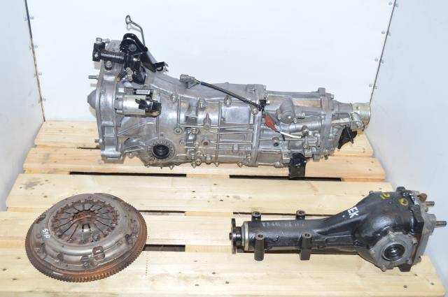 JDM Subaru Impreza WRX Forester Legacy 2008 - 2013 5 Speed Push-Type Manual Transmission for Sale with 4.11 LSD Differential