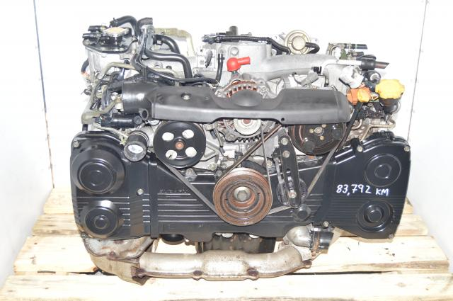Used Subaru EJ205 TD04 Turbo AVCS DOHC 2.0L GDA GDB  Replacement Engine for WRX 02-05 For Sale