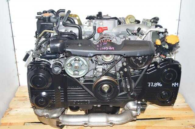 Used Subaru EJ205 2.0L DOHC WRX 2002-2005 AVCS TD04 Turbocharged Quad Cam Engine Swap For Sale