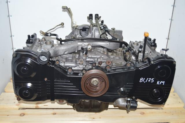Subaru WRX 2002-2005 EJ205 Engine 2.0L Quad Cam Long Block (No need to change cam gear and sprocket )