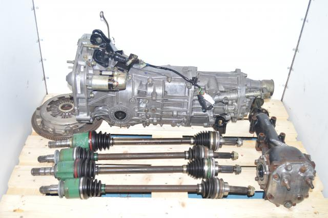 JDM 4.444 LSD WRX 02-05 5 Speed Manual Transmission Package & 4 Corner Axles For Sale