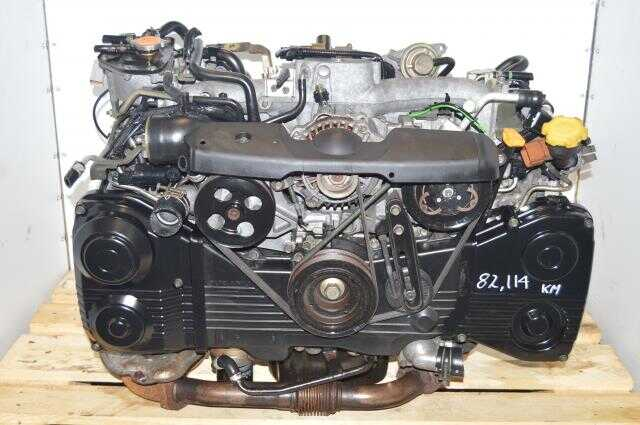 Subaru WRX 02-05 GD EJ205 TD04 Turbocharged 2.0L Engine Swap, JDM AVCS DOHC Motor For Sale