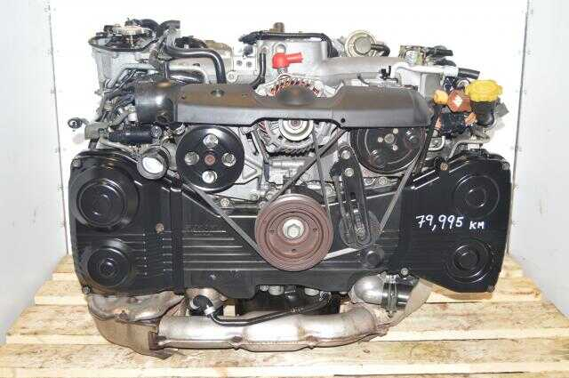 EJ205 WRX 2002-2005 DOHC AVCS Engine, JDM TD04 Turbo Subaru 2.0L Motor For Sale