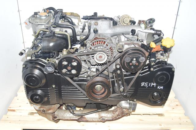 WRX 2002-2005 Subaru AVCS EJ205 TD04 Turbocharged DOHC 2.0L GD Engine For Sale