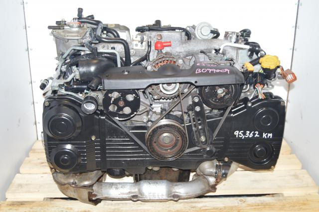 2.0L DOHC TD04 Turbo EJ205 WRX 2002-2005 AVCS Motor Package for Sale