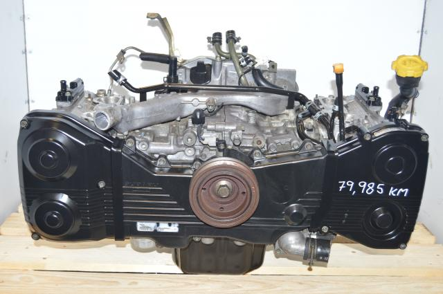 JDM Subaru EJ20 WRX 2002-2005 Long Block DOHC 2.0L Engine