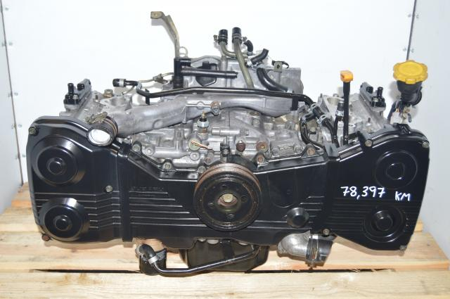 Subaru EJ205 DOHC 2.0L GD Motor Long Block Swap WRX 2002-2005
