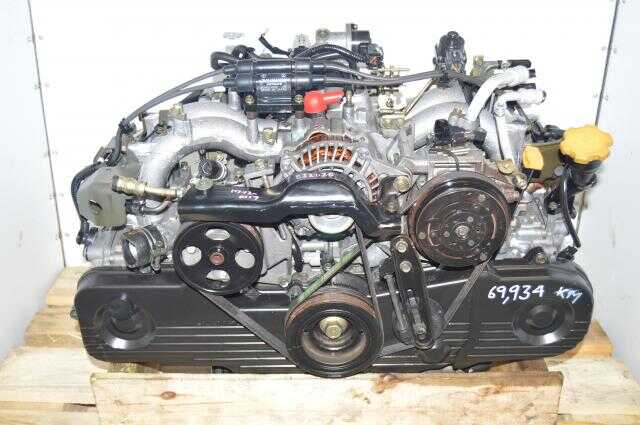 Subaru Legacy / Forester SOHC 99-02 EJ201, EJ202 JDM 2.0L Replacement Engine for 2.5L USDM Motor