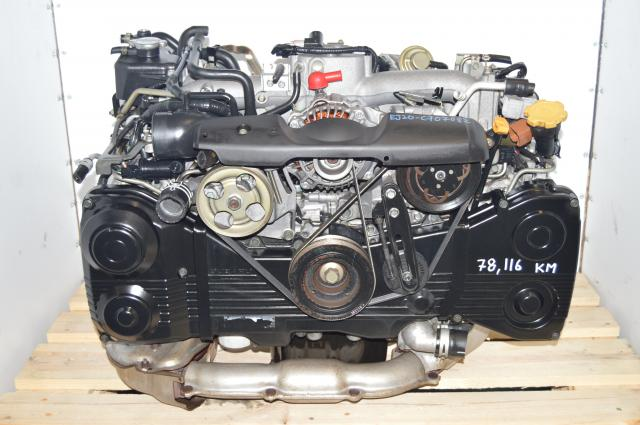 2.0L DOHC WRX 2002-2005 TD04 Turbo AVCS EJ205 Engine Swap for Sale