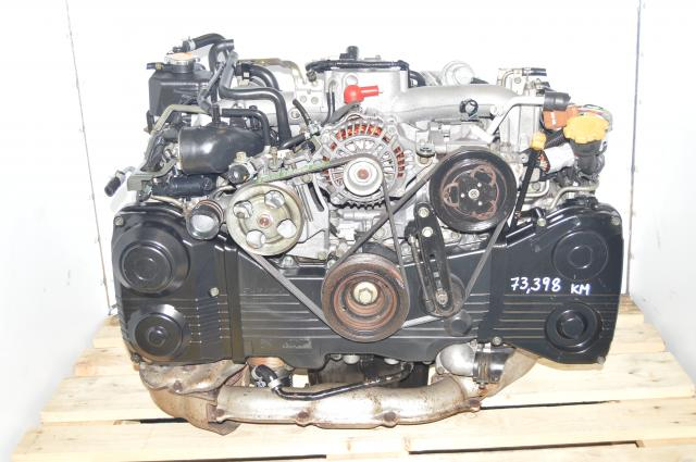 AVCS TD04 Turbocharged WRX 2002-2005 EJ205 DOHC Subaru GD Motor For Sale
