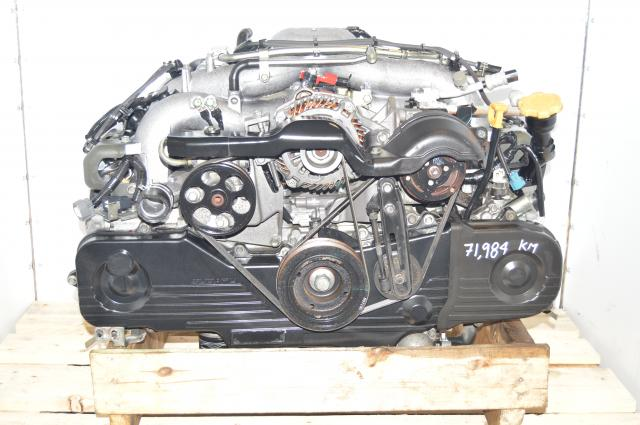 Used Subaru EJ253 2.5L AVCS Naturally Aspirated SOHC Non-Turbo JDM Impreza, Forester, Legacy Engine Swap For Sale