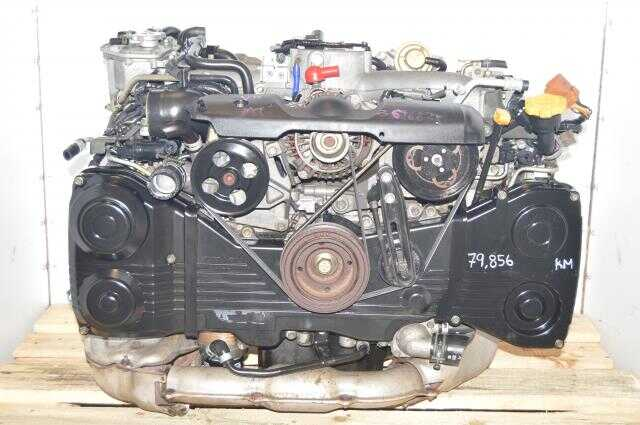 Subaru AVCS TD04 Turbocharged WRX 2002-2005 EJ205 2.0L DOHC Engine Swap