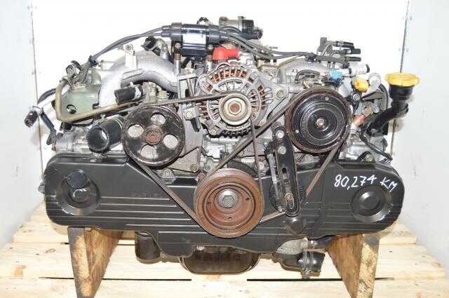 Subaru SOHC NA EJ201, EJ202, EJ203 Engine Long Block Replacement for 2.5L USDM Forester 1999-2002 Non-Turbo