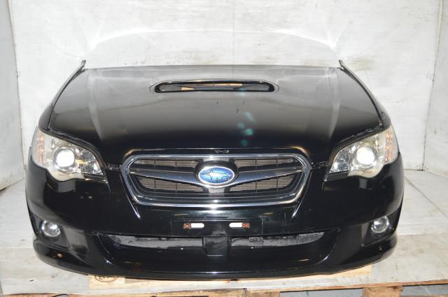 JDM Subaru Legacy 2008-2009 Front End Conversion with Foglights, Fenders, Hood & Hood Scoop For Sale
