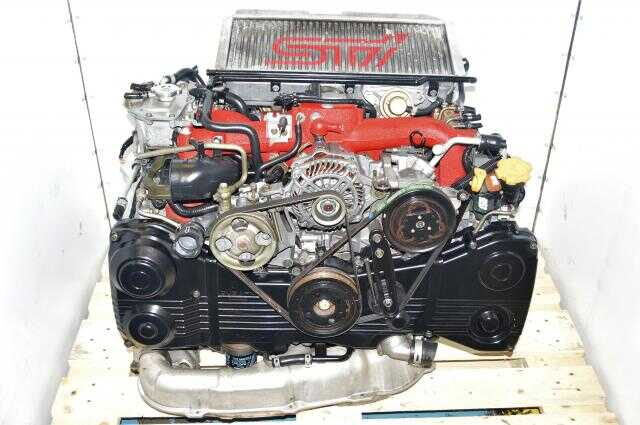 JDM Version 9 EJ207 2002-2007 STi DOHC AVCS 2.0L Quad Cam Turbocharged Twin Scroll Engine For Sale