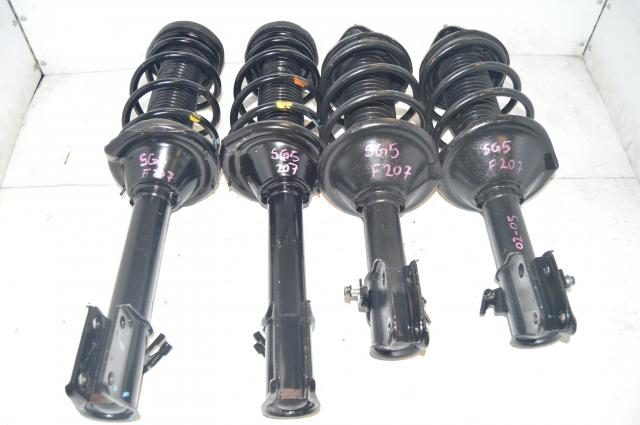 used JDM 5x100 Subaru Forester 2002-2007 OEM SG5 SG9 Suspensions