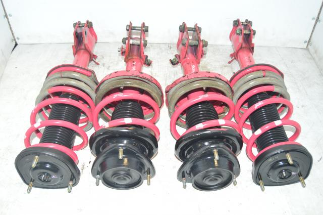 Subaru STi S203 4-Way Adjustable AWD 5x114.3 Suspension Assembly For Sale