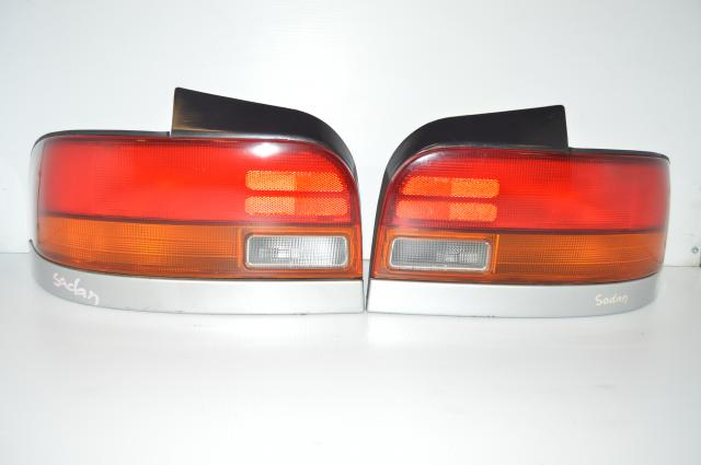 JDM Subaru GC8 OEM Passenger & Driver Rear Tail Lights For Sale