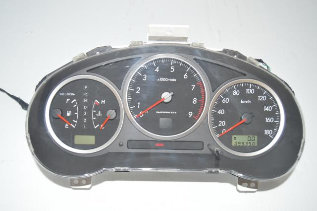 JDM Subaru Impreza Automatic Gauge Cluster Assembly For Sale