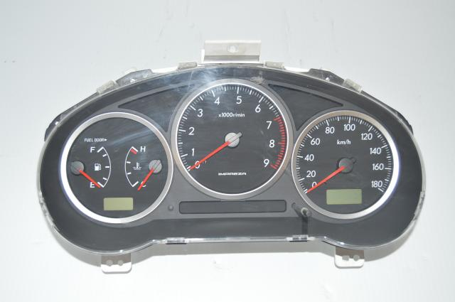 JDM Subaru Impreza 2004-2005 Manual 5-Speed Gauge Cluster