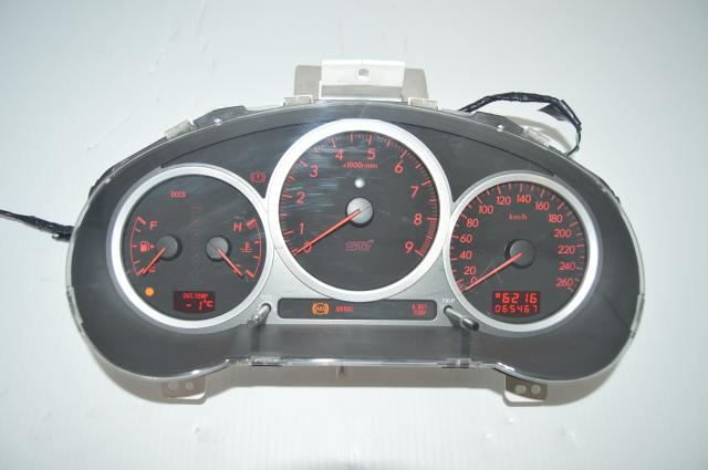JDM Version 9 DCCD STi Manual Instrument Gauge Cluster