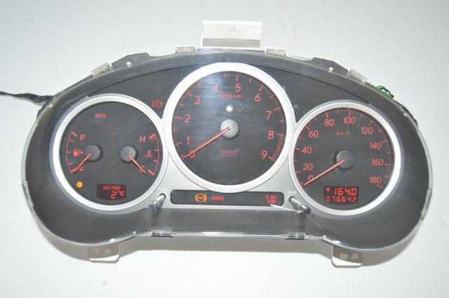 JDM Subaru WRX STi 2004-2007 Version 8 DCCD Manual Gauge Cluster