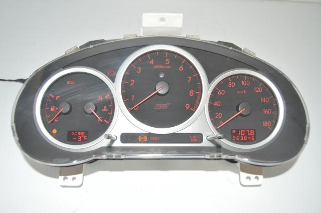 DCCD Version 8 WRX STi 2004-2007 Manual Speedometer, Odometer JDM Gauge Cluster