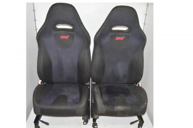 Subaru JDM STi SG9 Forester Front Seats For Sale