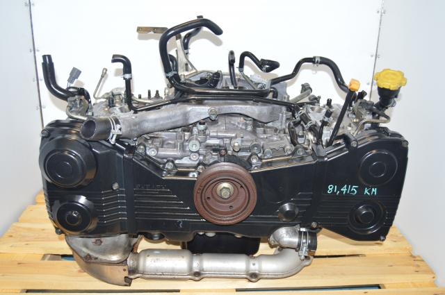 JDM Subaru WRX 2002-2005 Long Block EJ205 2.0L DOHC Motor For Sale