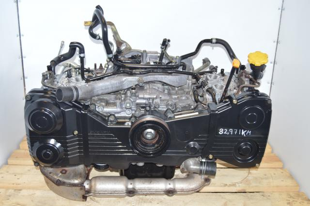 Subaru EJ205 JDM WRX 2002-2005 2.0L DOHC Engine Replacement for Turbocharged USDM Motor