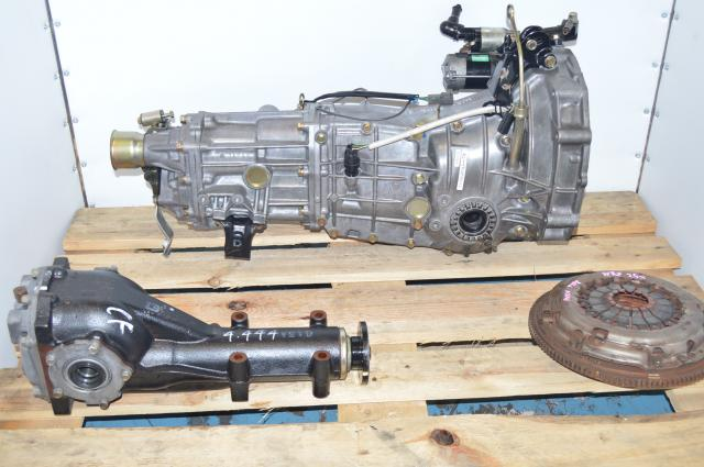 JDM Subaru WRX 2006-2007 Push-Type 5-Speed Manual Transmission with Matching 4.444 Rear Differential