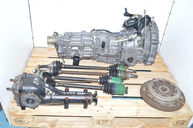 Subaru WRX 2002-2005 GDA GDB 5-Speed Manual Transmission Swap with Axles, Differential, Flywheel & Pressure Plate