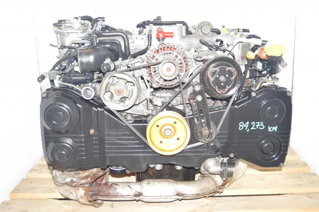 Used JDM 2.0L DOHC TD04 Turbo EJ205 WRX 2002-2005 AVCS Engine Package for Sale  (Direct fit in 2002-2005 WRX models)