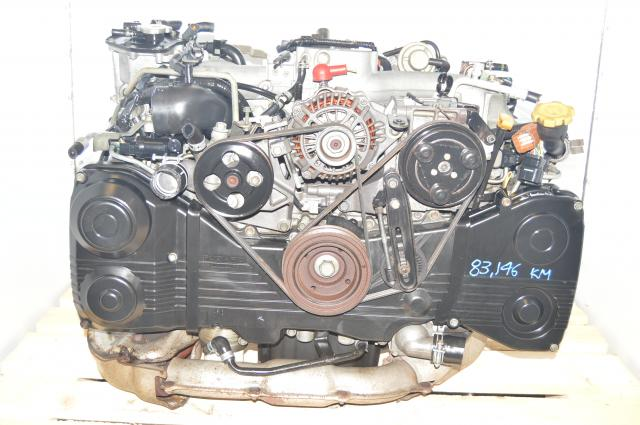 WRX 2002-2005 JDM Subaru 2.0L DOHC TD04 Turbocharged EJ205 Engine For Sale