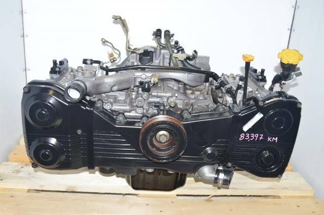 JDM Subaru EJ205 GDB GDA WRX 2002-2005 Long Block Engine Swap