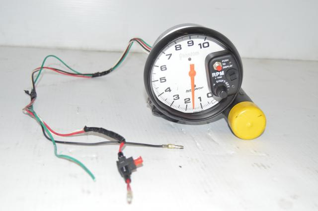 Autometer Phantom Tachometer w/shift light (big)