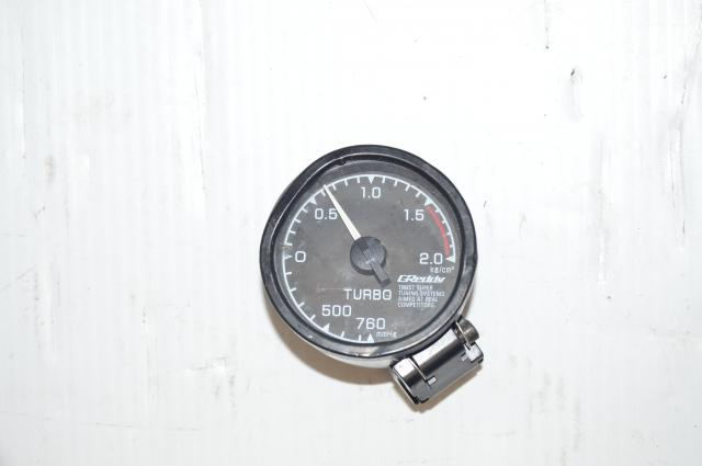 JDM Greddy Turbo Mechanical Boost Gauge (52mm)
