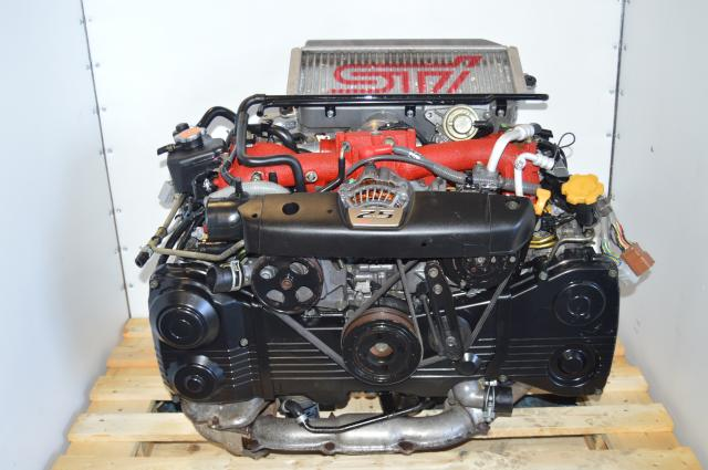 used JDM Subaru Forester STi EJ255 2.5L SG9 2007 Motor Swap with VF41 Turbocharger For Sale FSTI Drive by Wire WRX 06-07